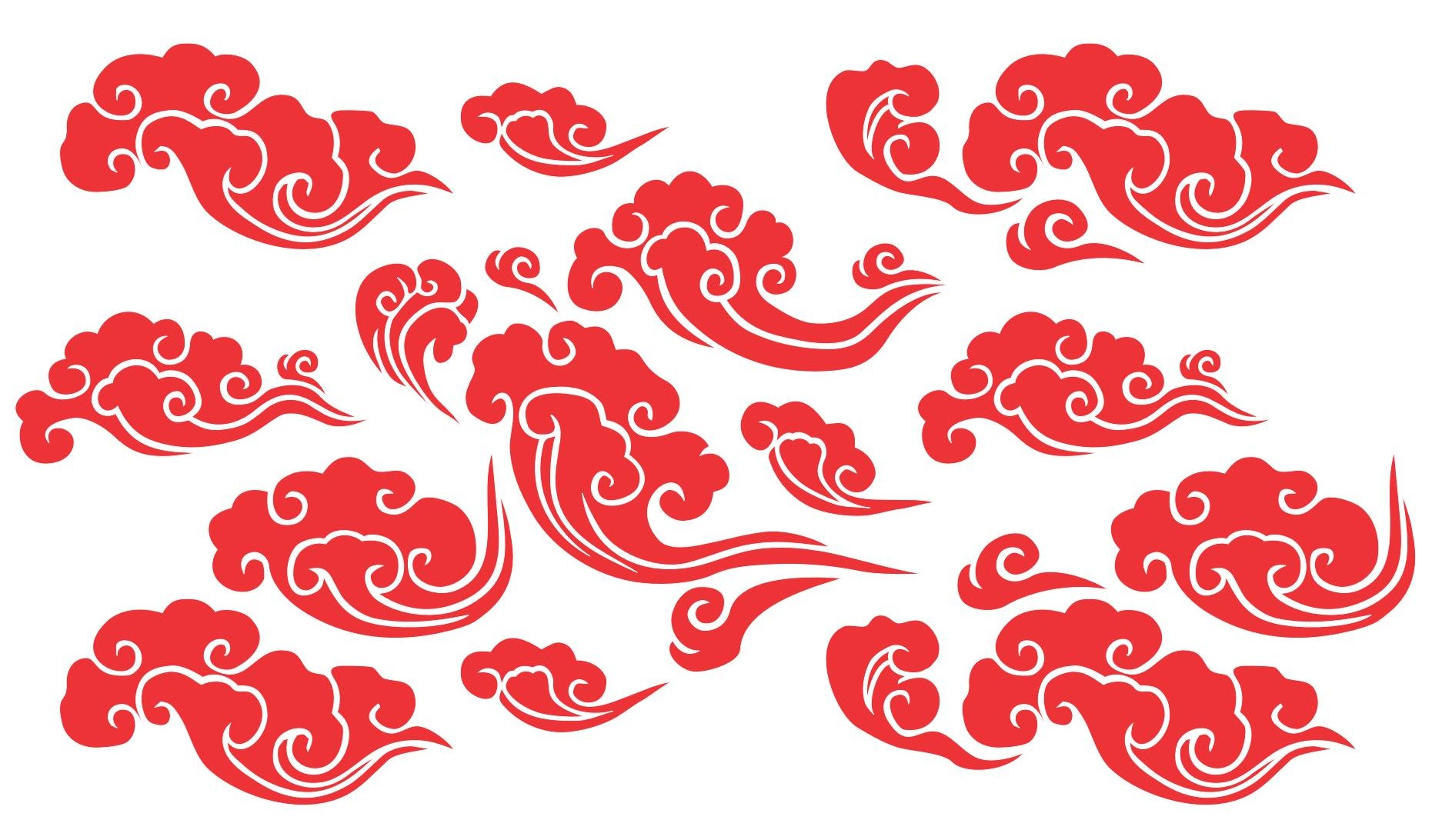 1861x1092 Chinese Clouds Patterns And Geometry Cloud