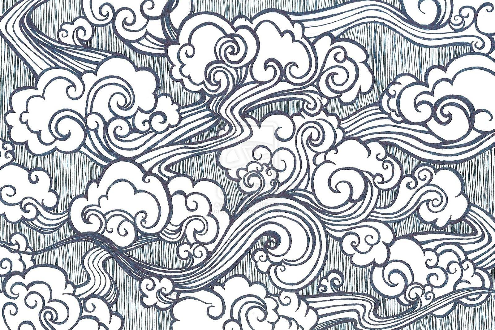 1600x1066 Oriental Cloud Drawing Oriental Clouds By Gkelleh