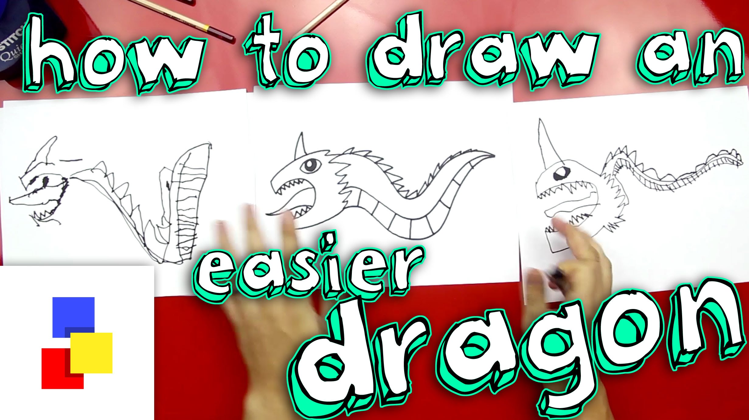 2463x1381 How To Draw A Dragon (For Super Young Artists)