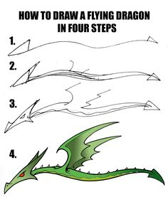 236x277 How To Draw Easy Dragons Step By Step To Draw A Chinese Dragon