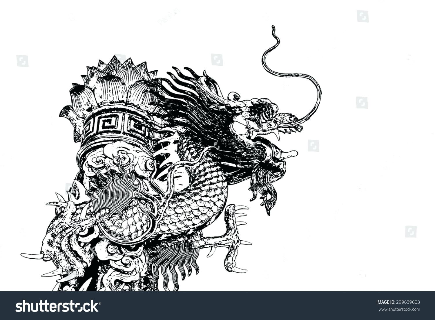 1500x1101 Coloring Pages For Adults Easy Toddlers Chinese Dragon From Heaven