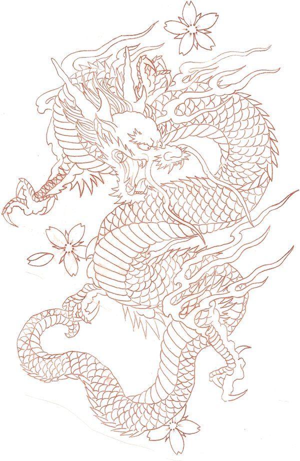 600x922 Drawn Chinese Dragon Female 3285605