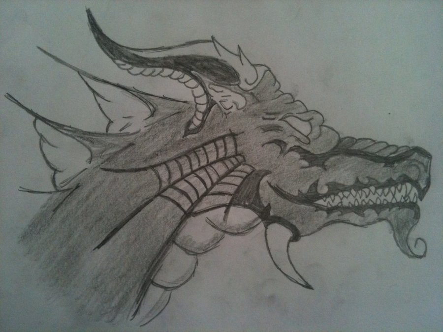 900x675 Easy Chinese Dragon Drawing