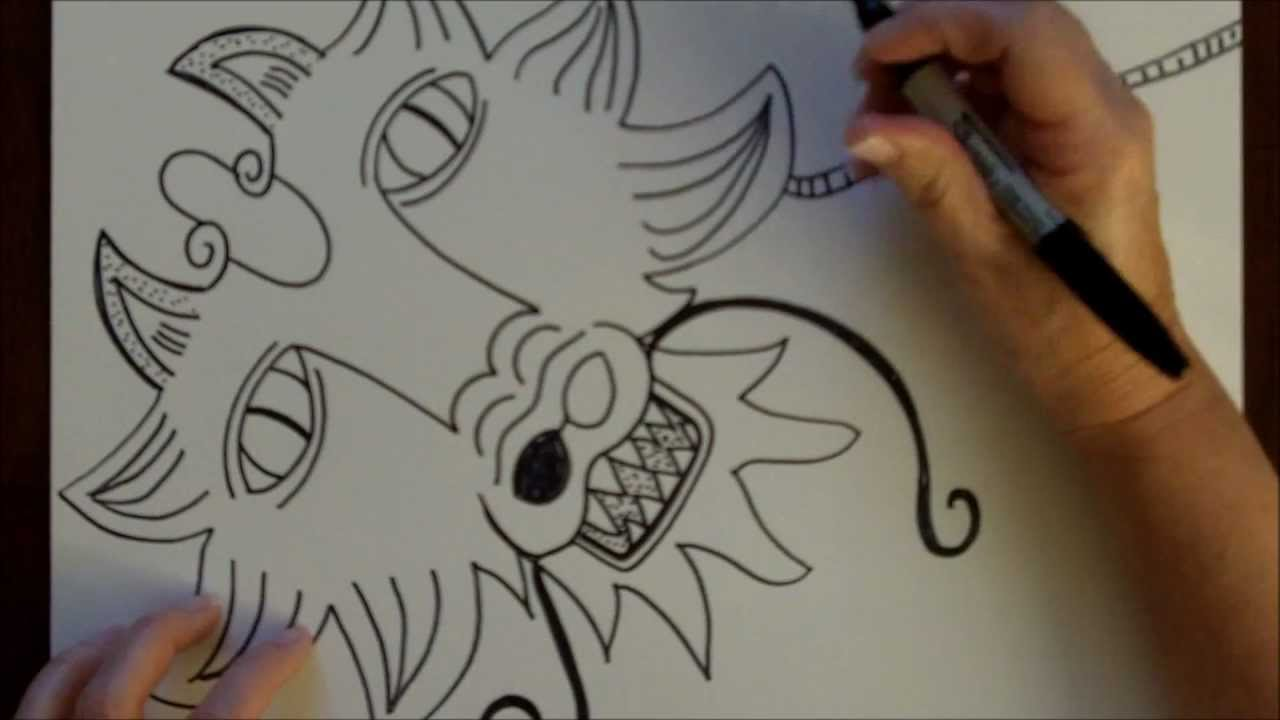 1280x720 How To Draw A Dragon Step By Step Drawing Tutorial Free Art Lesson