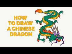 236x177 Art Lesson I 6 The Chinese Dragon. Learn To Draw A Dragon And Use