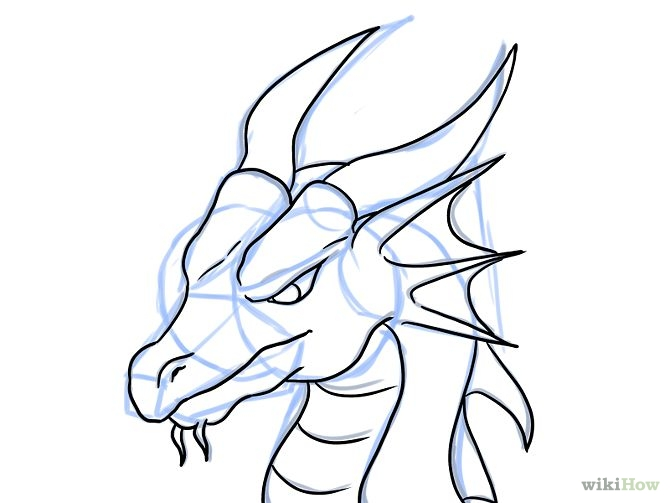 Chinese Dragon Easy Drawing At Getdrawings Free For Personal
