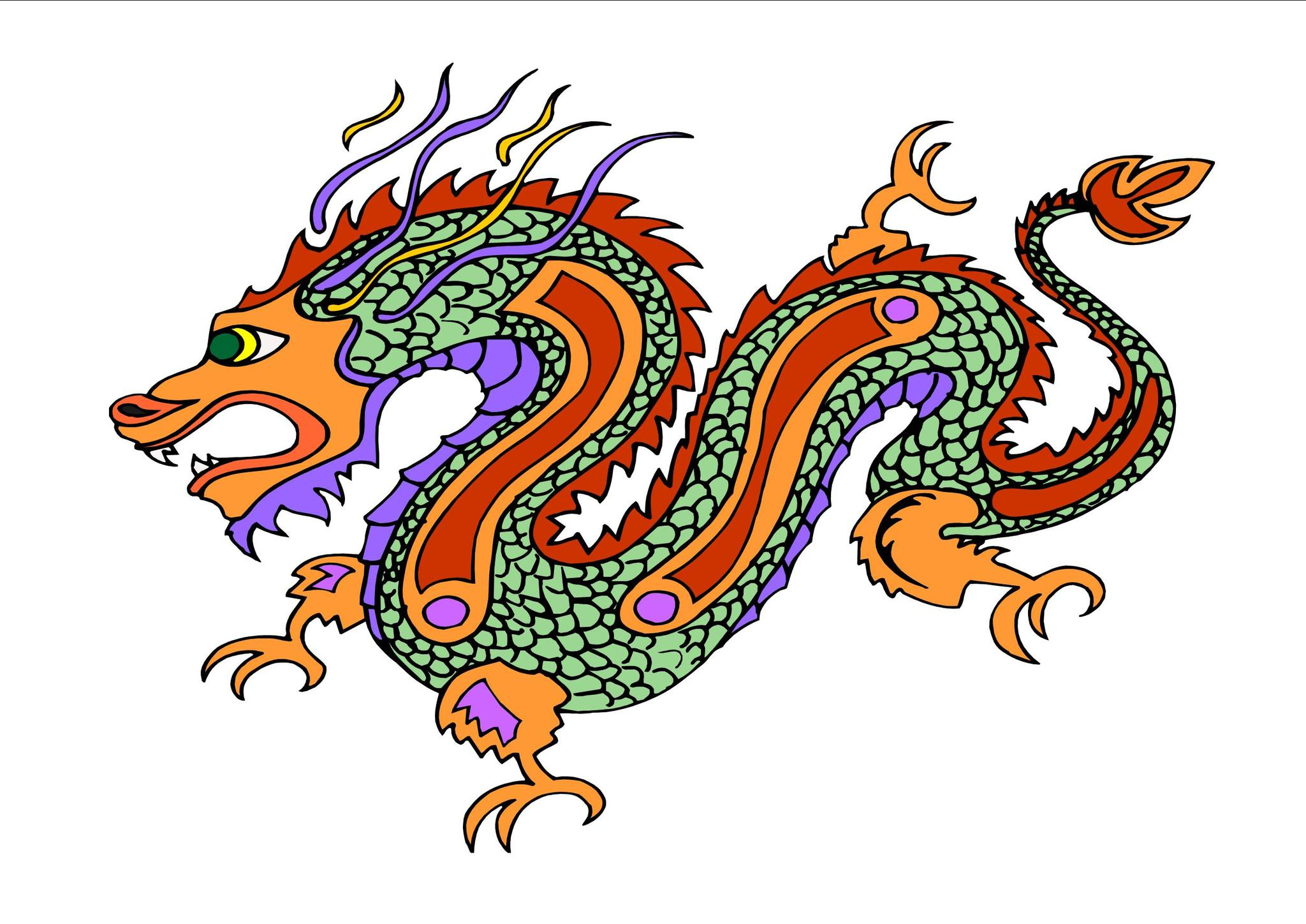 2048x1448 Chinese Dragons Drawings With Color 12 Best Images About Chinese