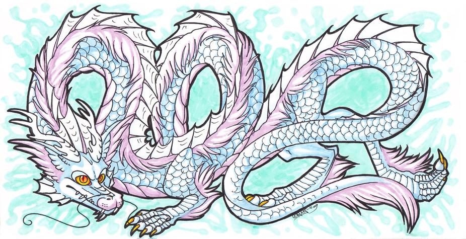 926x475 Chinese Water Dragon By Kirawra