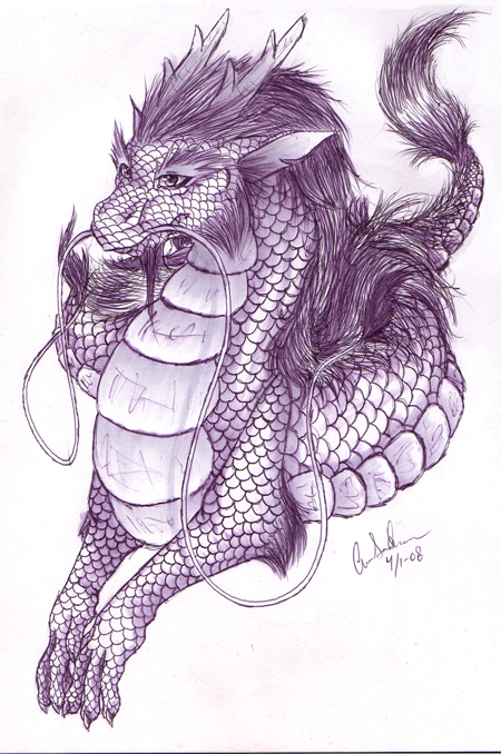 450x678 Chinese Dragon 2 By Sugarcup91