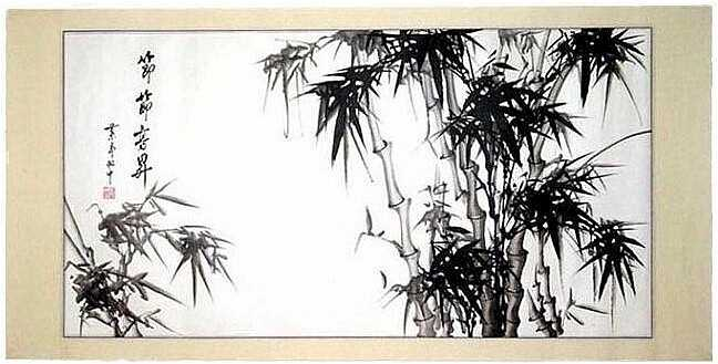 648x329 Bamboo Paintings Home Living Room Chinese Bamboo