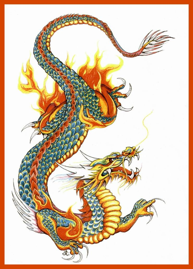 740x1030 Asian Dragon By On @ This Girl