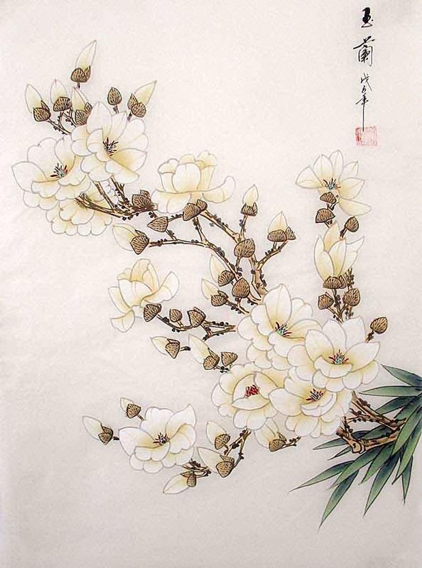 Magnolia Flower Paintings Sale