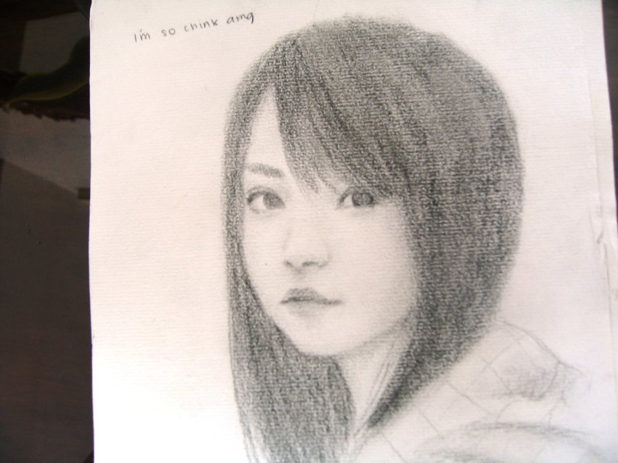 900x675 Asian Girl Drawing By Lolno007