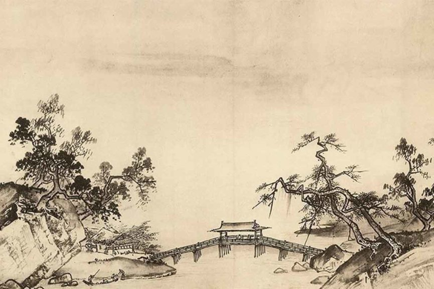 865x577 Magic And Tradition Of Chinese Landscape Painting Widewalls