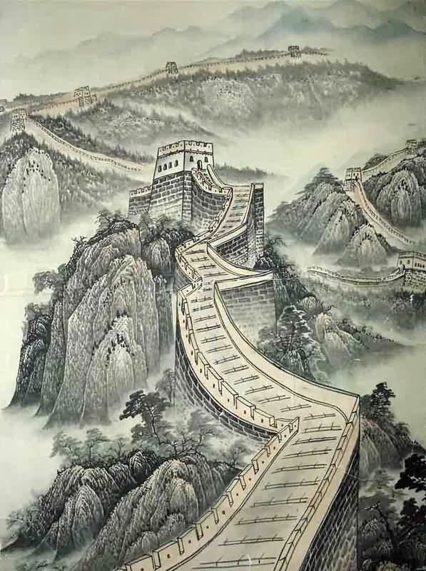 597x800 Page 9 Chinese Landscape Paintings, Oriental Painting Scrolls