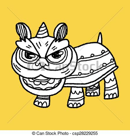 Chinese Lion Head Drawing at GetDrawings.com   Free for personal use ...