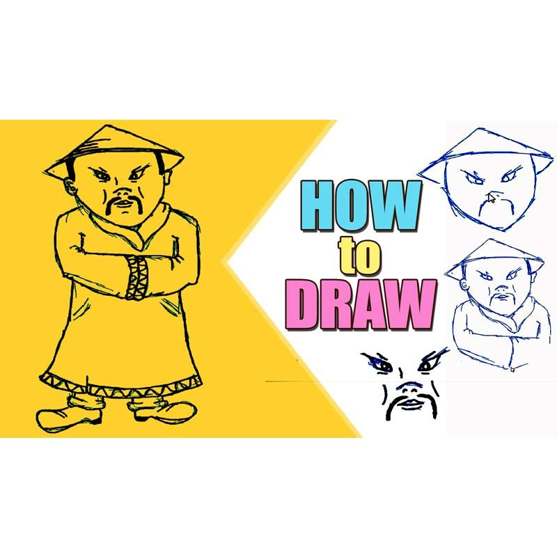 Chinese Man Drawing at GetDrawings.com   Free for personal use ...