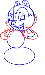 183x302 How To Draw How To Draw Chip From Chip And Dale