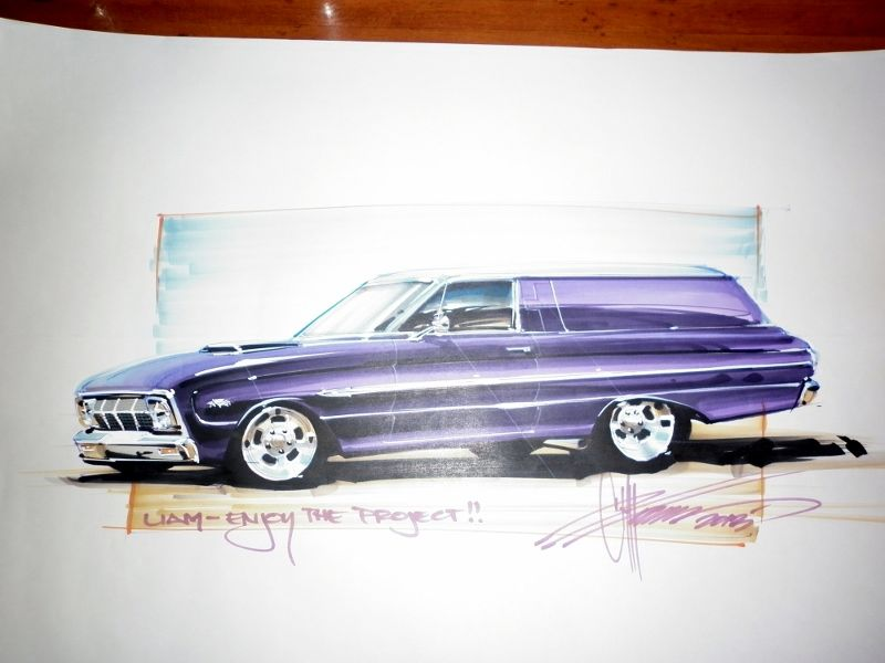 800x600 Related Pictures Chip Foose Mustang Drawing Ford Tracing Ideas