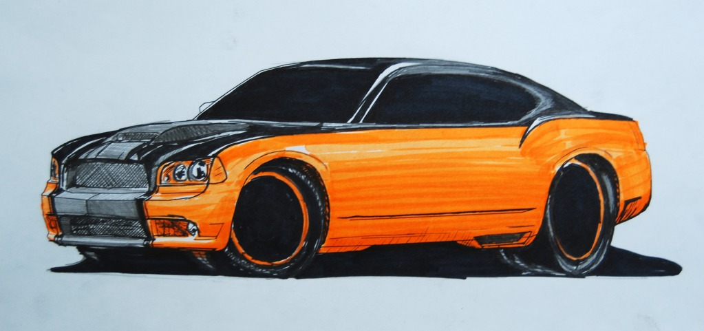 Chip Foose Car Drawing at GetDrawings.com | Free for personal use ...