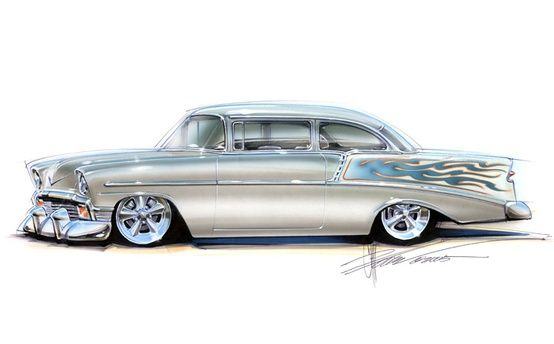 554x344 Chip Foose Drawings And Sketches Chip Foose Design Wallpaper