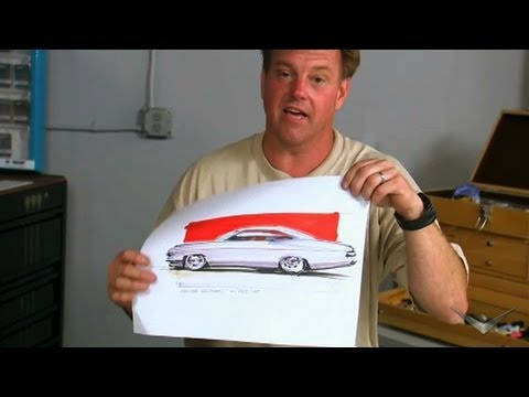 480x360 Chip Foose Sketches The Dream Car Overhaulin'
