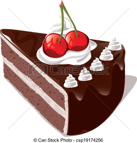 449x470 Chocolate Cake Clipart Vector
