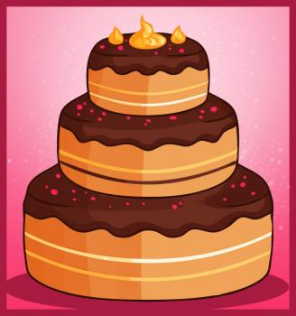 328x350 How To Draw How To Draw A Cake
