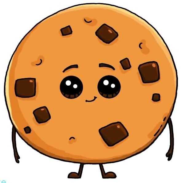 chocolate chip cookies drawing at getdrawings com free for rh getdrawings com cookie clipart black and white cookies clip art for free