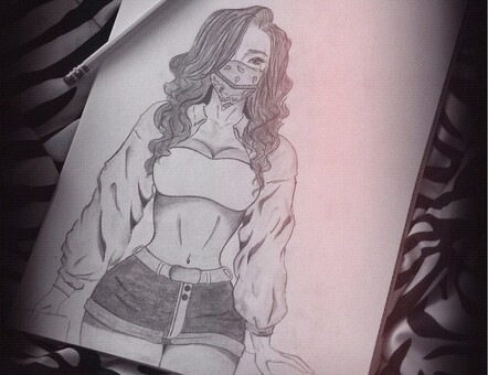 442x340 Chola Drawing Uploaded By Latina.qk On We Heart It
