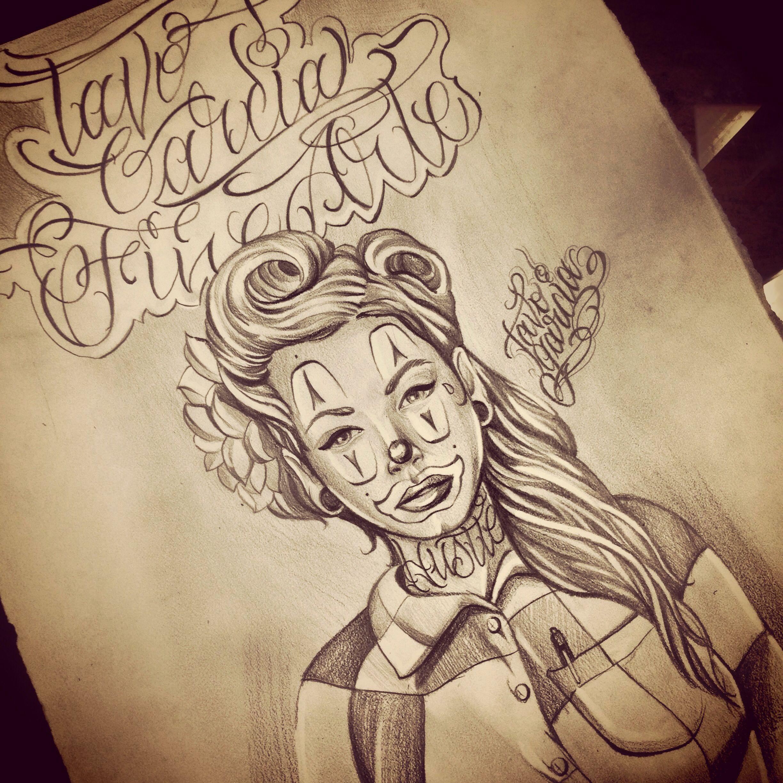 2448x2448 Chola Clown Drawing I Did A Couple Days Ago Love Doin Art My