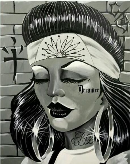 458x575 7 Best Donnas Cholas Images On Chicano Art, Cute Girls
