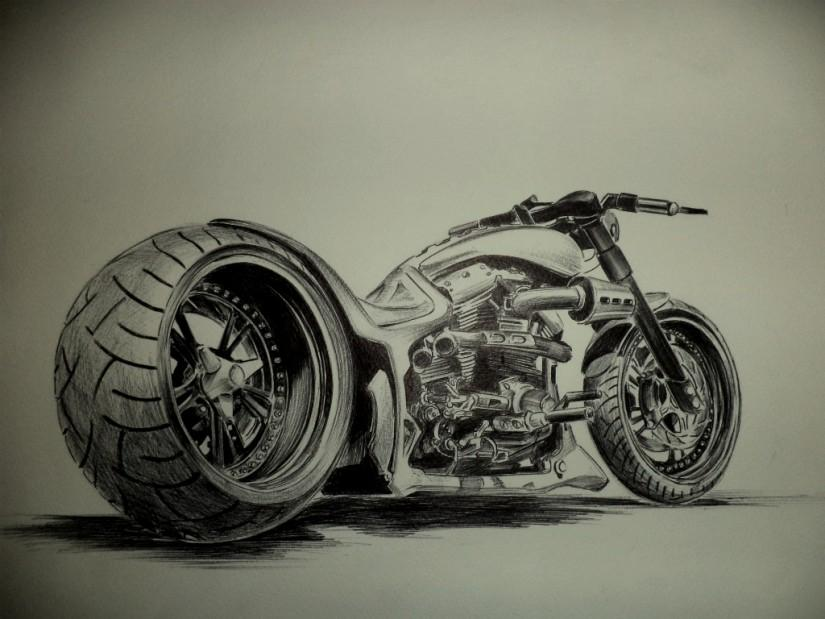 825x619 Hardcore Choppers (17 Hours Continuos Sketch)