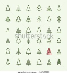 236x259 Use As Colouring Guide For Xmas Tree Punch, Instead Of Stamping