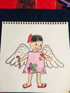 236x314 My Drawing Of My 21st Christmas Angel 2016 Drawing