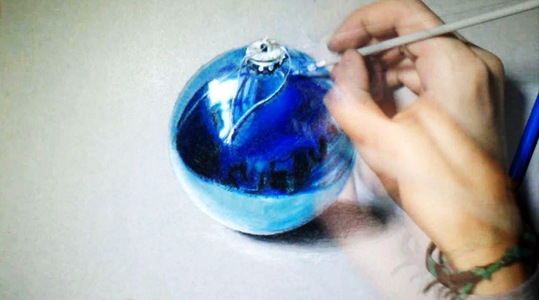 1313x733 How I Draw Christmas Ball