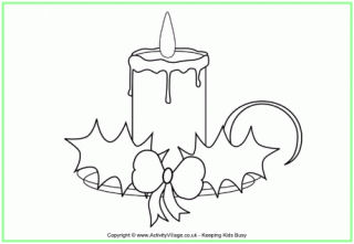 320x221 Christmas Candle Crafts
