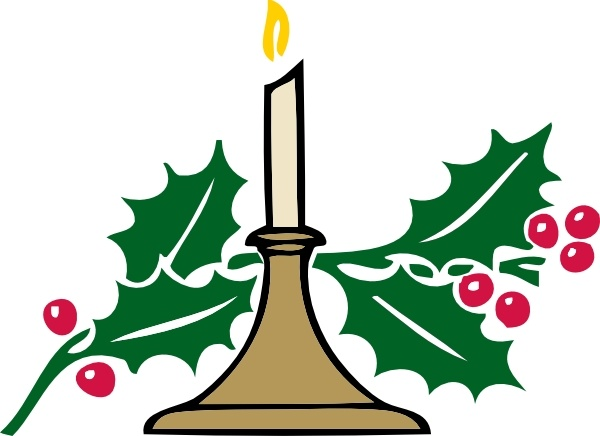 600x436 Christmas Candle Clip Art Free Vector In Open Office Drawing Svg