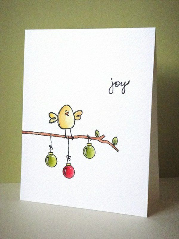 600x800 Christmas Card Drawing Ideas Easy AEUR Fun For