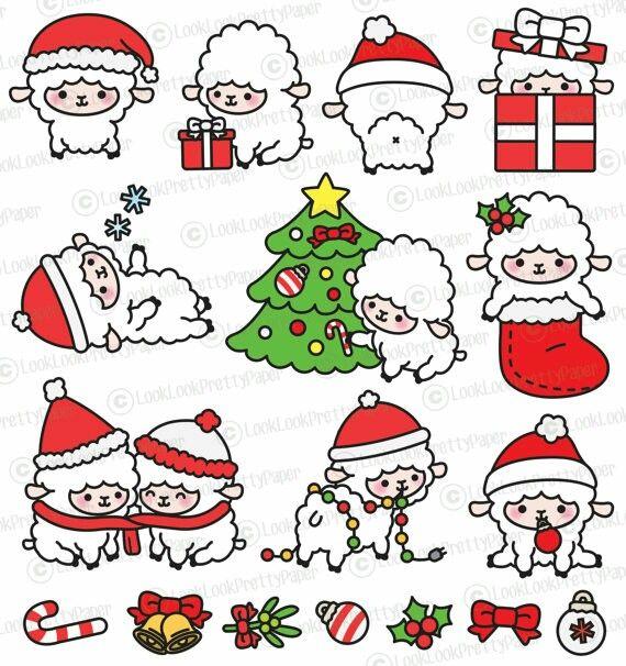 570x606 Pin By Nicole Stubbs On Clip Art Kawaii, Christmas