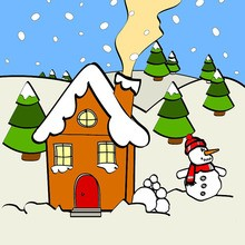 220x220 Christmas for kids Coloring, drawing, games, reading, crafts and