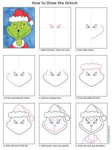 225x300 Draw The Grinch Grinch, Kids S And Tutorials