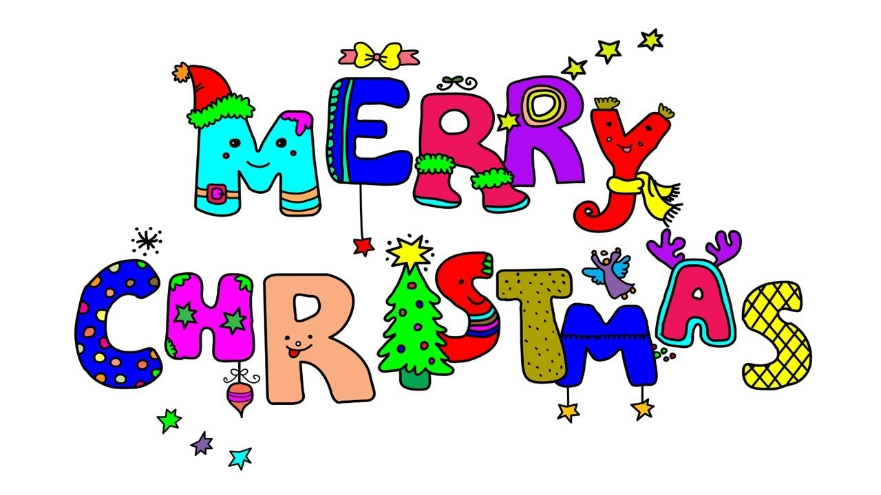 1280x720 Christmas Decorations Drawing And Coloring