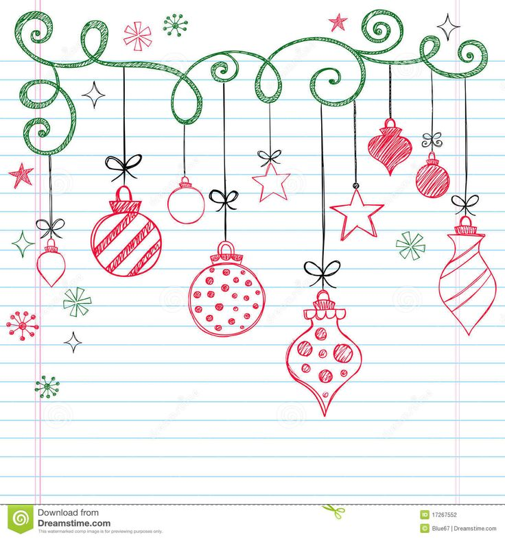 736x786 Frame Christmas Decorations Drawing Merry Christmas Amp Happy New