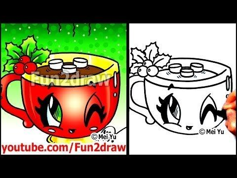 480x360 Fun Christmas Pictures To Draw Allofpicts