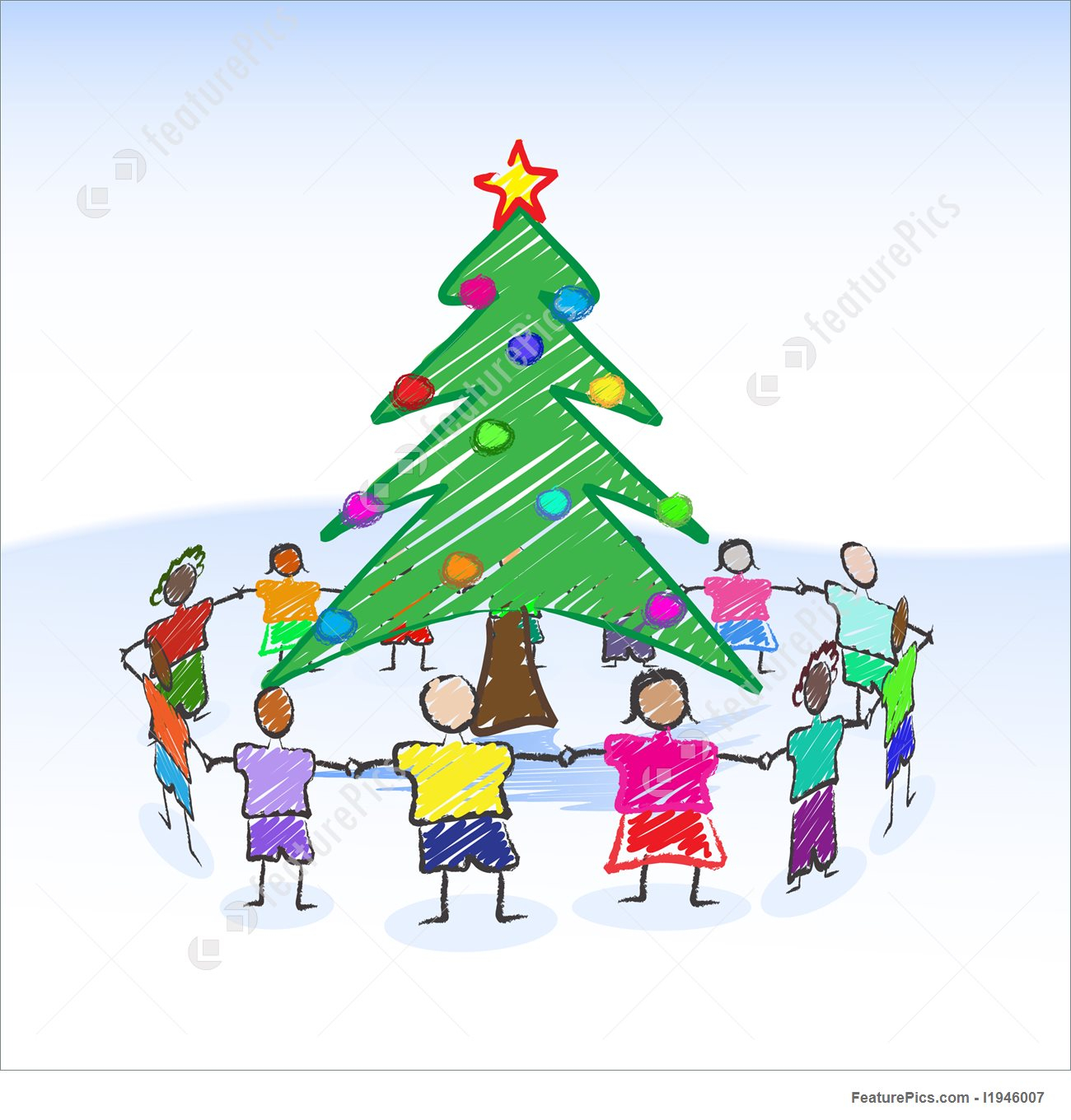Christmas Drawing For Children at GetDrawings.com | Free for ...
