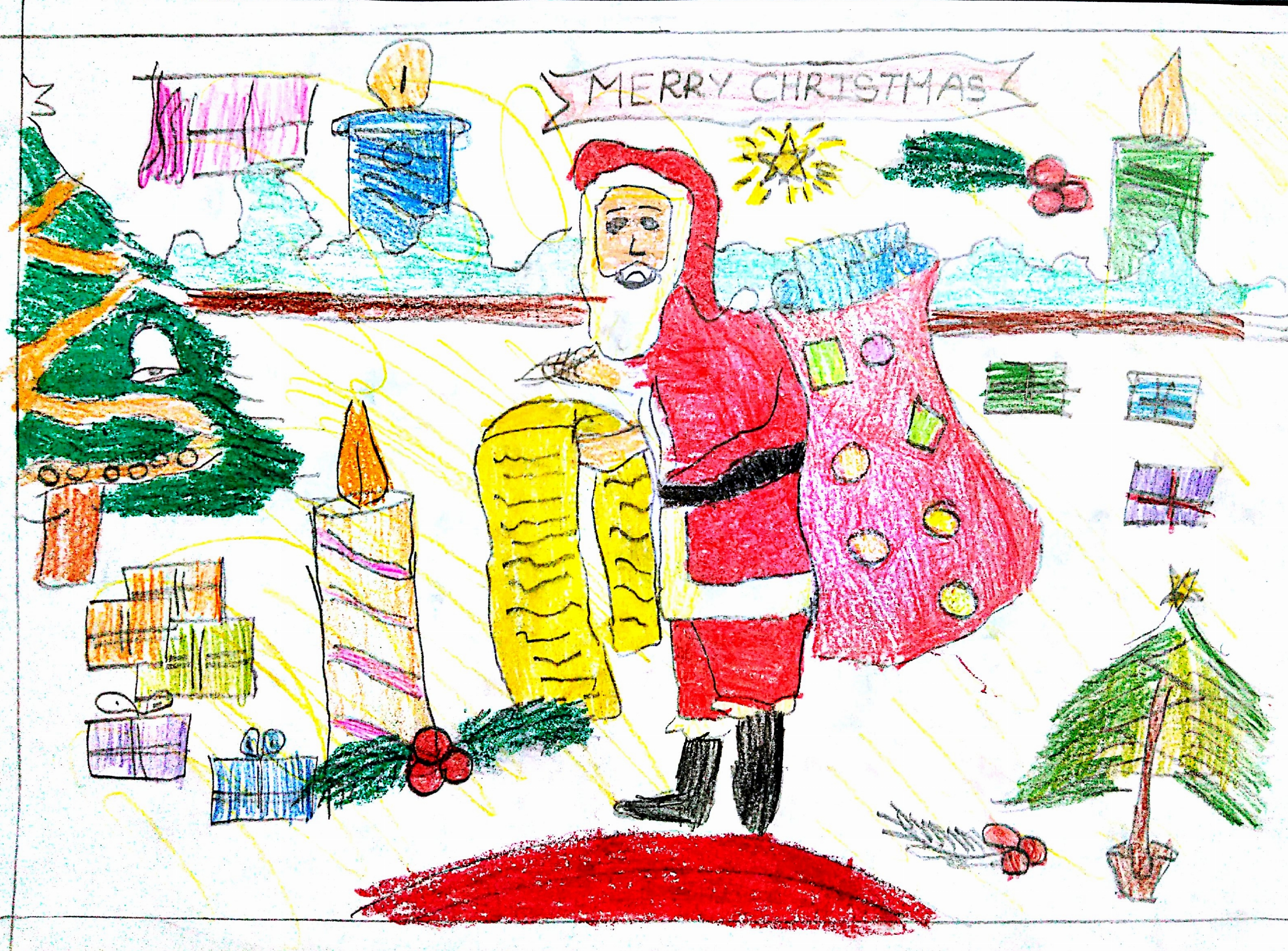 3171x2343 Maym Christmas Drawing Competition Results 2015 St Mary'S