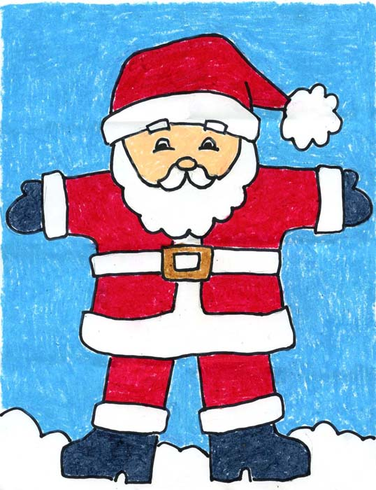 Christmas Drawing Kids At Getdrawings Com Free For Personal Use