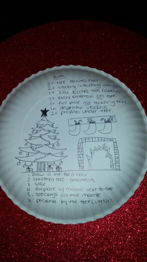 293x520 Christmas Paper Plate Drawing Game (Plate Goes On Your Head While