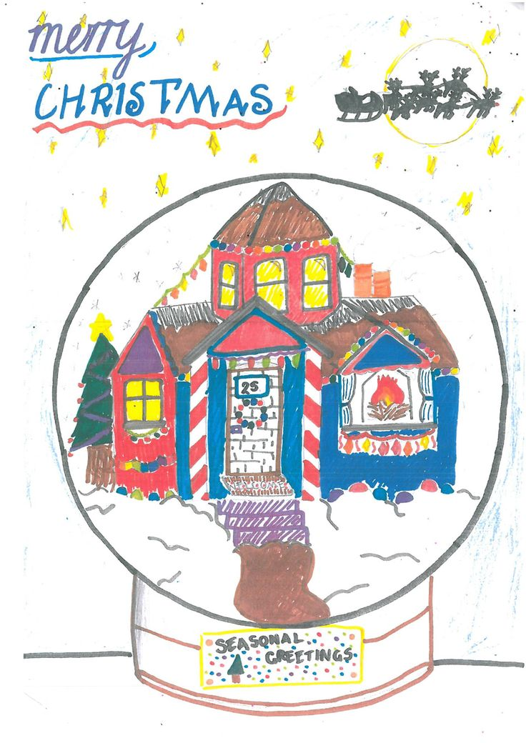 736x1040 7 Best Christmas Drawing Competition Images On Art